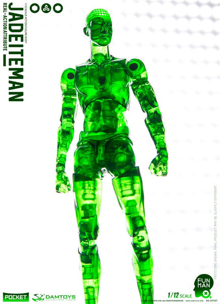 [In Stock] Damtoys Funman Series Jadeite Man 1:12