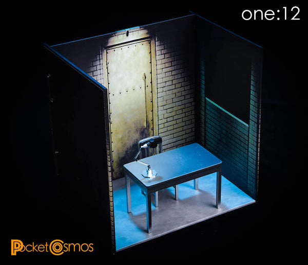 [Pre Order] PCToys PC0006 Interrogation Room Diorama 1:12 - Batch 2