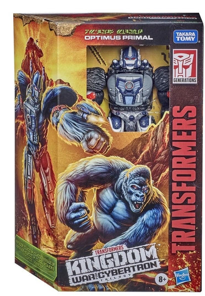 [Pre Order] Hasbro Transformers Kingdom- Voyager class Optimus Primal