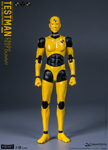 [In Stock] Damtoys Funman Series Crash Testman 1:12