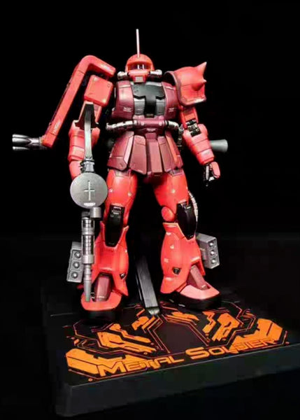 [Ready to Ship] Metal Soldier MS-02 1/100 MS-06S The Red Comet(Char's Zaku ll) - Addicted2Anime Singapore