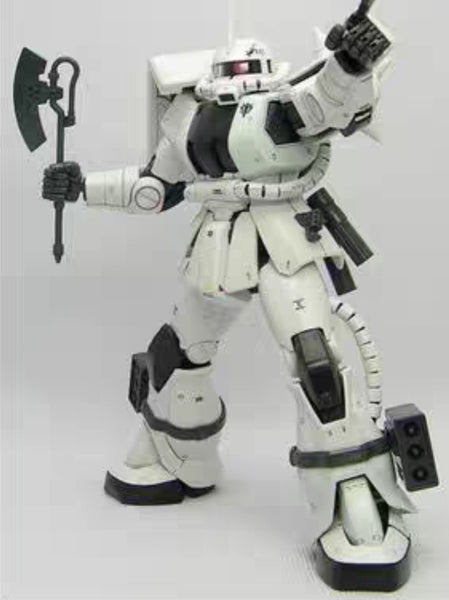 [In Stock] Metal Soldier 1/100 MS-06J The White Orge(Elmer Snell's Zaku ll)