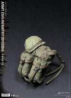 [Ready to Ship] Damtoys Pocket Elite PES004 Army 25th Infantry Division (Vietnam War) Private 1:12