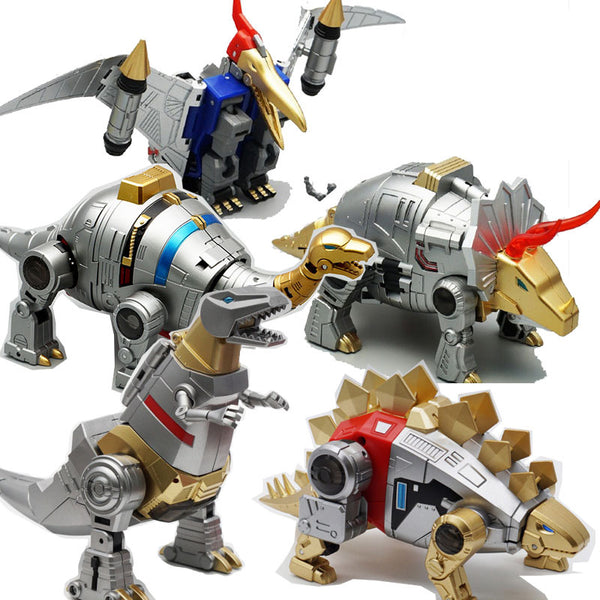 [In Stock] MFT Dinobots (Metallic Ver.) - Addicted2Anime Singapore