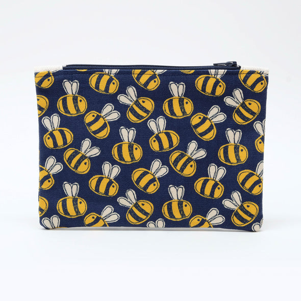 busy bee - flat purse with keyring pack of 6
