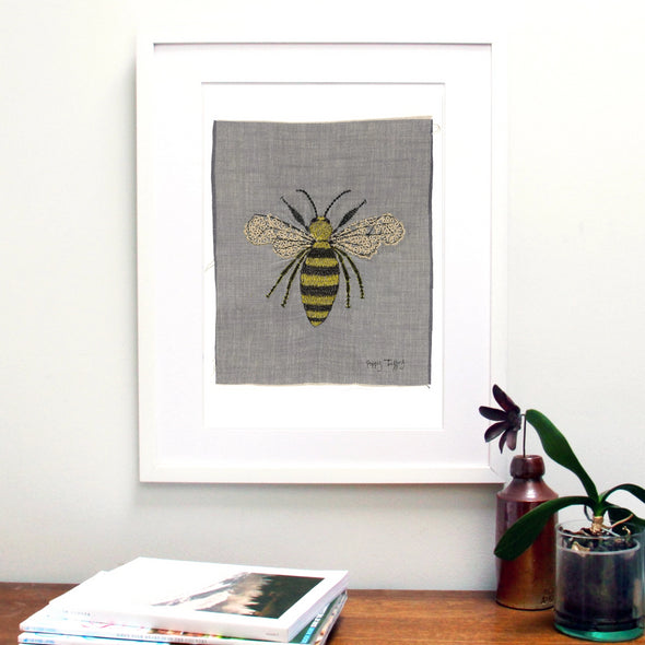 Busy bees - A3 print pack of 6
