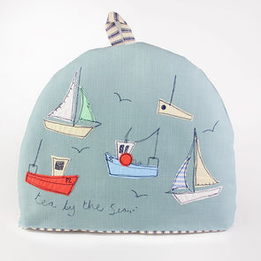 boats - tea cosy