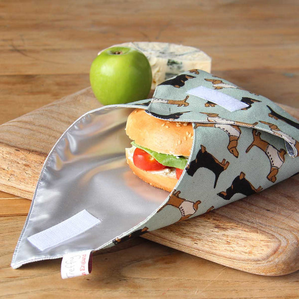 dachshund (duck egg) - sandwich wrap pack of 6
