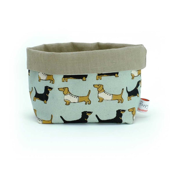 dachshund (duck egg) - small storage pot pack of 6