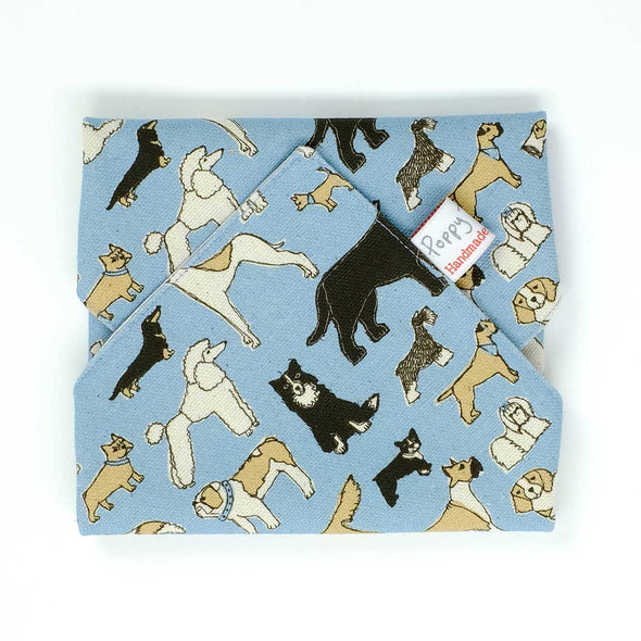 four legged friends - sandwich wrap pack of 6