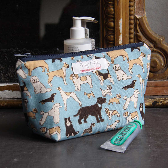 four legged friends - small wash bag pack of 3