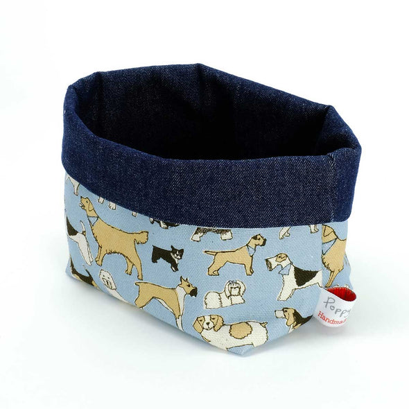 four legged friends - small storage pot pack of 6