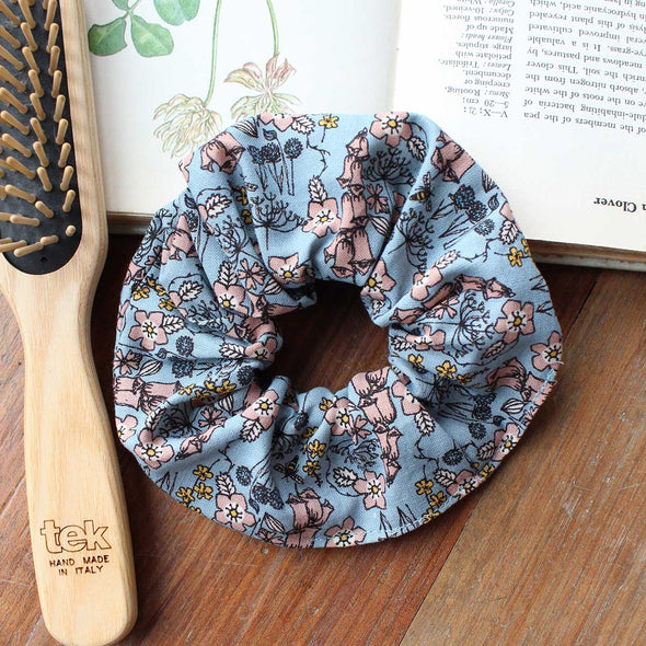 wild flowers - scrunchie pack of 6