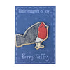 jolly robin - wooden magnet pack of 12
