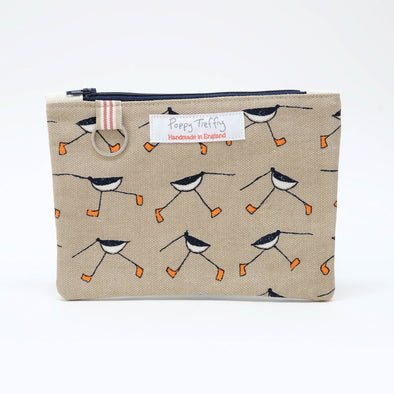 oystercatcher - flat purse with keyring pack of 6
