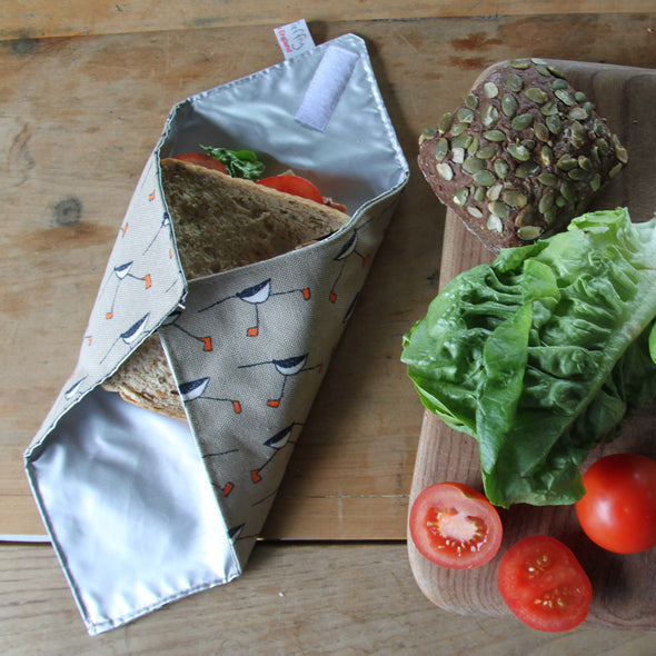 oystercatcher - sandwich wrap pack of 6