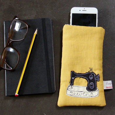 Sewing machine phone case - pack of 3