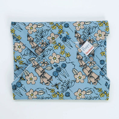 wild flowers - sandwich wrap pack of 6