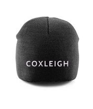 Load image into Gallery viewer, Coxleigh Barton Pull-On Beanie with Embroidery