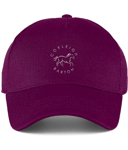Coxleigh Barton Ultimate Cotton Cap with Embroidered Logo