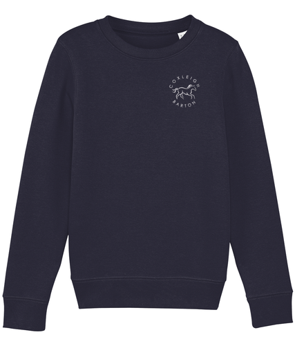Coxleigh Barton Kids Embroidered Mini Changer Sweatshirt