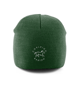 Coxleigh Barton Pull-On Beanie with Embroidered Logo