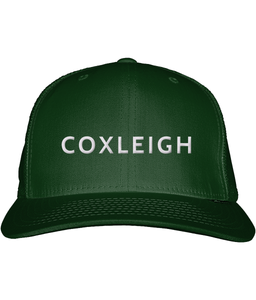 Coxleigh Barton Snapback Trucker Cap with Bubble 3D Embroidery