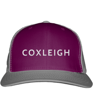 Load image into Gallery viewer, Coxleigh Barton Snapback Trucker Cap with Bubble 3D Embroidery