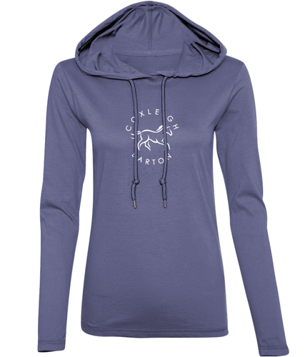 Coxleigh Barton Long Sleeve Hooded T-Shirt