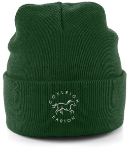 Coxleigh Barton Cuffed Beanie with Embroidered Logo
