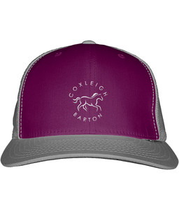 Coxleigh Barton Snapback Trucker Cap with Embroidered Logo