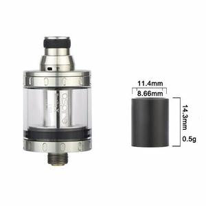 NautilusX/PockeX Smooth Wide Bore Drip Tip / 510 Adaptor