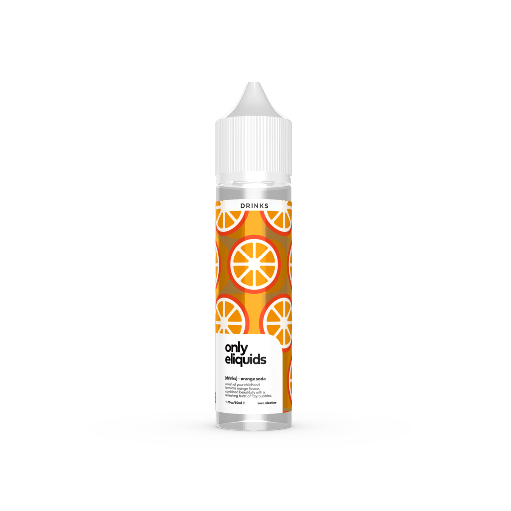 [DRINKS] Orange Soda 50ml