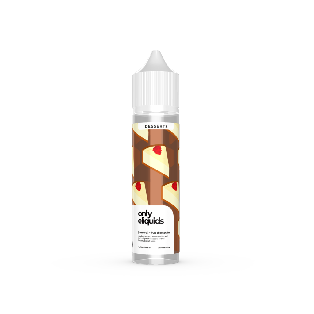 [DESSERTS] Fruit Cheesecake 50ml