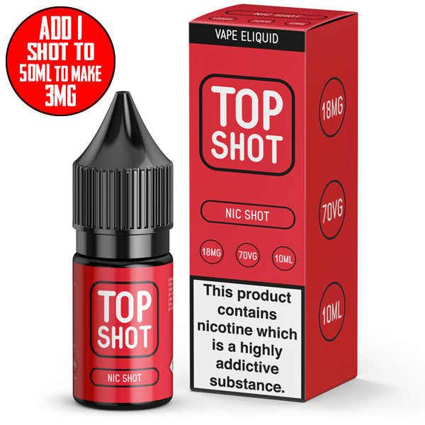 Top Shot 18mg Nic Shot