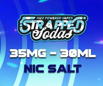Strapped Sodas Nic Salts 30ml