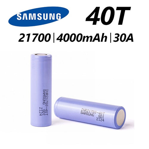 Samsung 40T, 21700 Battery