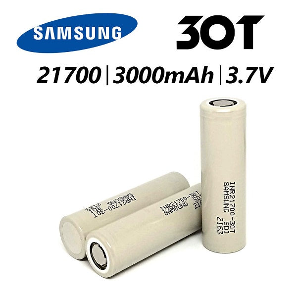 Samsung 30T, 21700 Battery