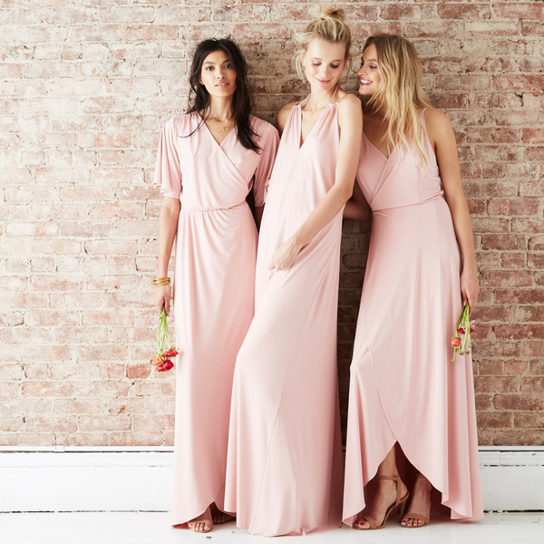 twobirds party collection in blush