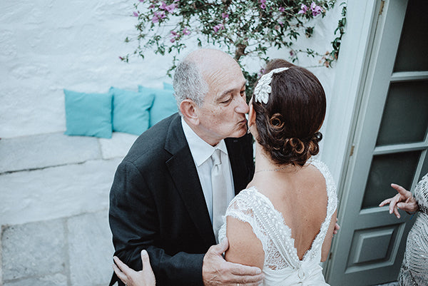 Alexia + Alex's wedding in Hydra, Greece