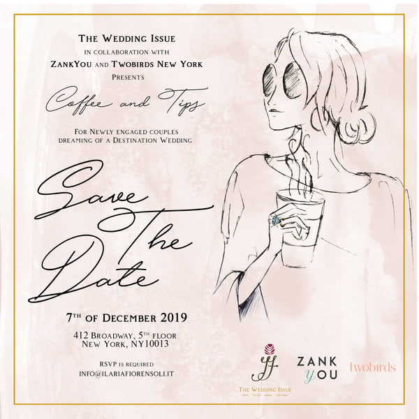 twobirds x the wedding issue event invitation