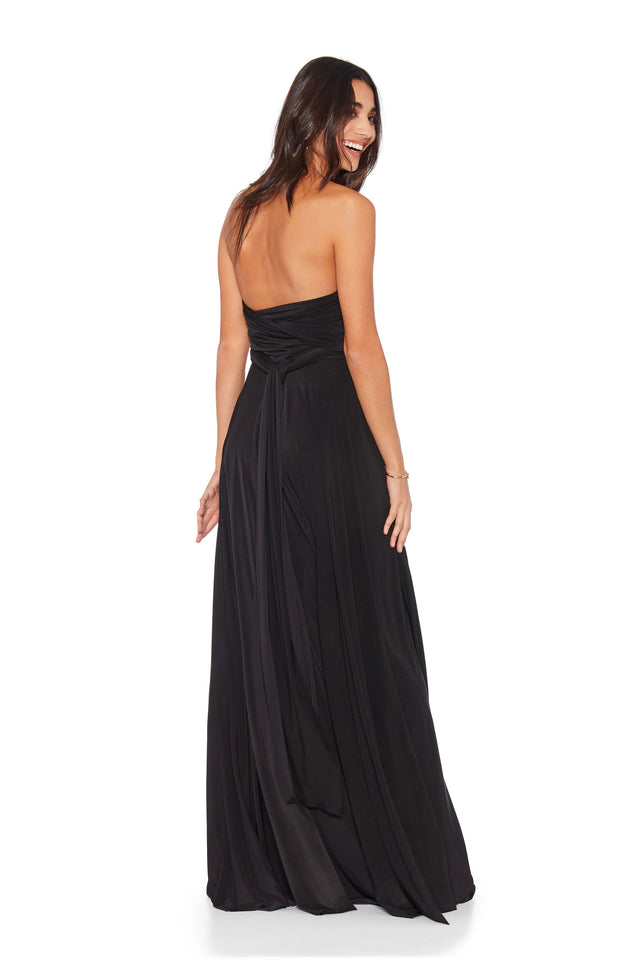 Black Convertible Ballgown