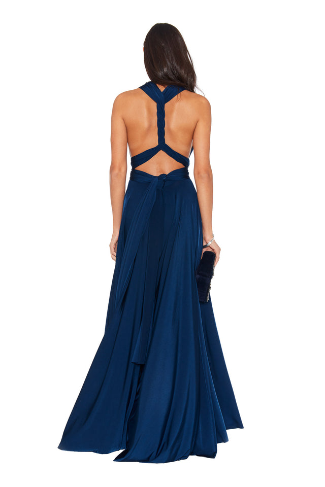 Classic Ballgown in Navy Sapphire