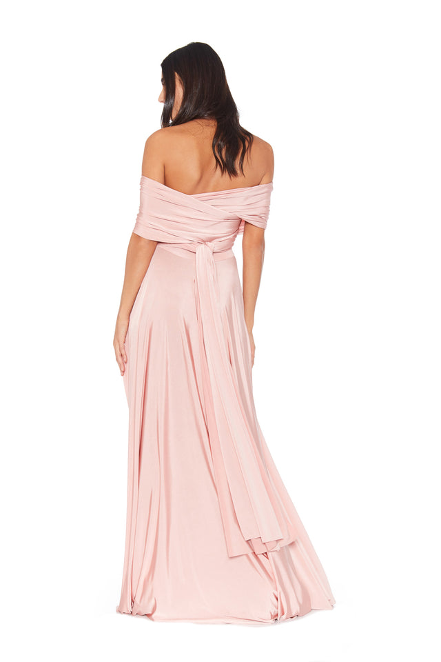 Blush Convertible Ballgown
