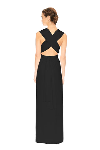 Convertible Slit Dress