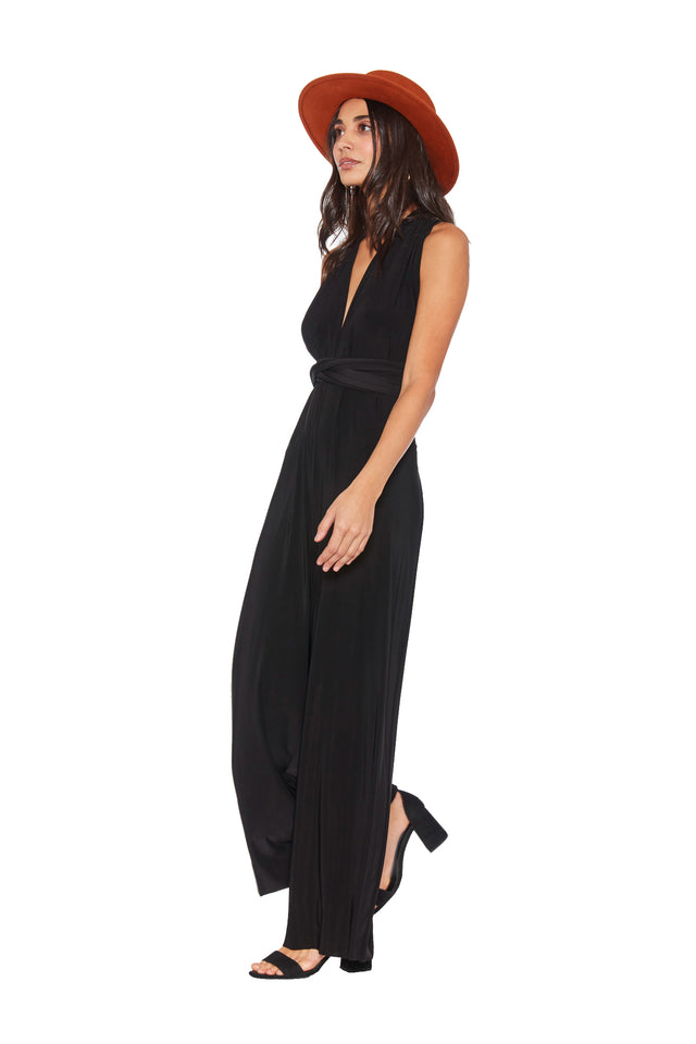 Sample Sale Black Jumpsuit