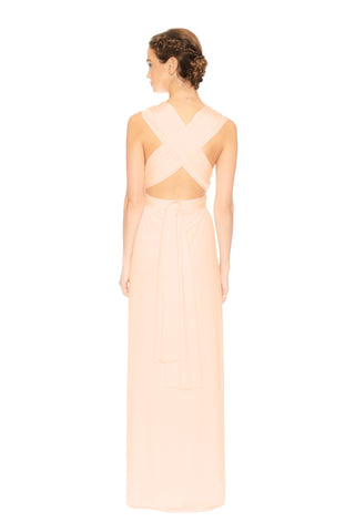 Slit Dress Peach