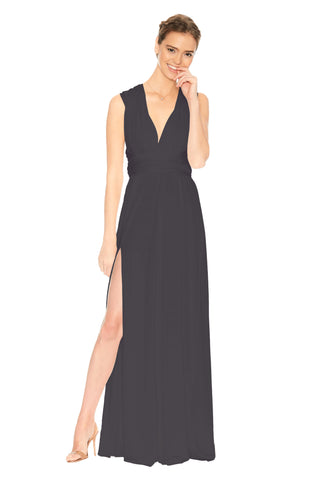 Slit Dress Pewter