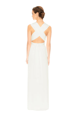 Slit Dress in Ivory