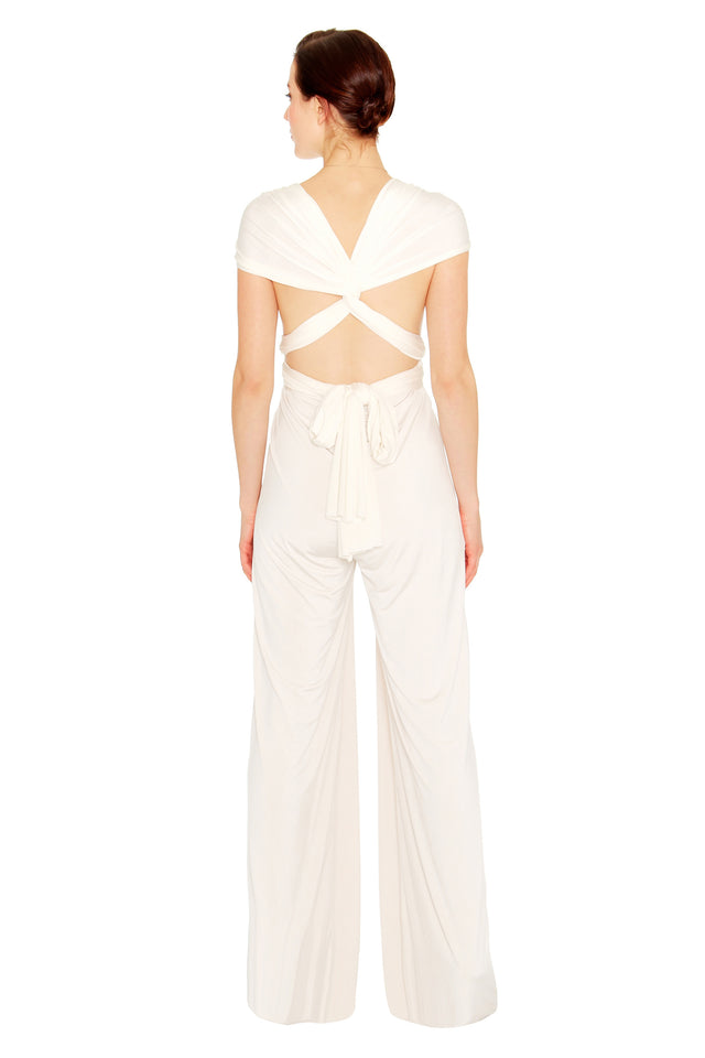 White Jumpsuit
